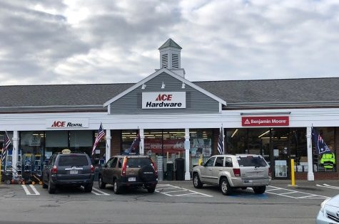 Ace HArdware store in Yarmouth