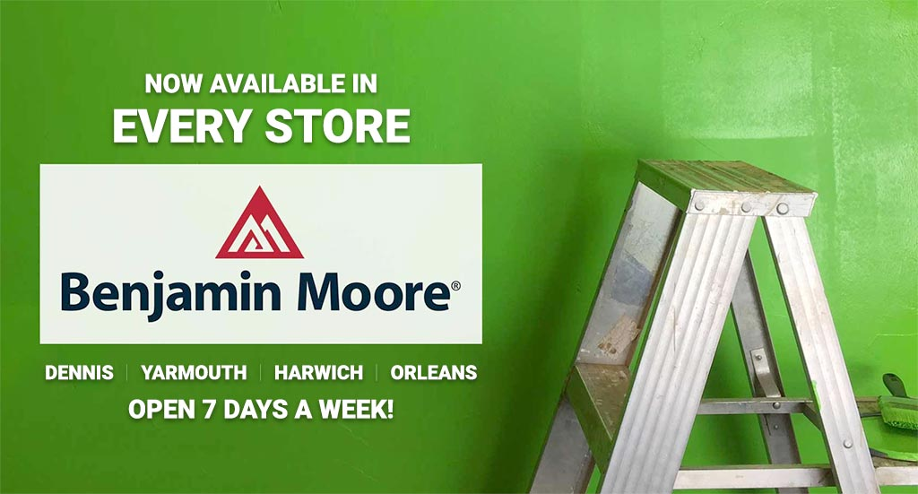 Benjamin Moore paint now available in all locations of Baskins Ace Hardware